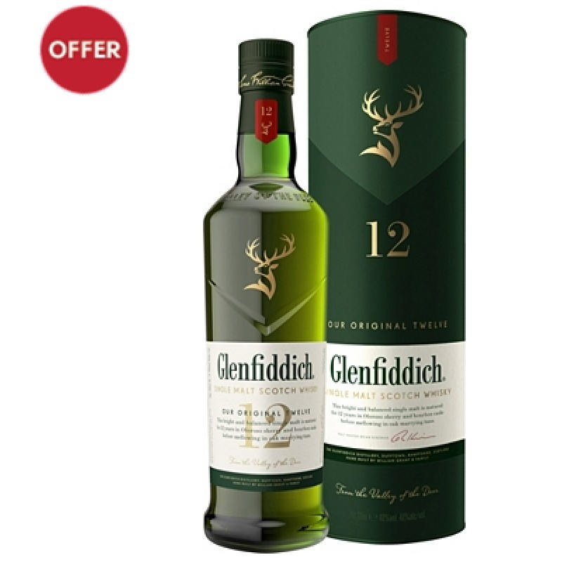 Glenfiddich Malt Whisky 12 Year Old